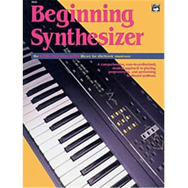Alfred Beginning Synthesizer - Music Book (AlFRD48868)