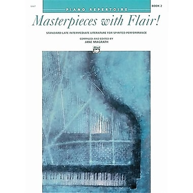 Alfred Masterpieces with Flair- Book 2 - Music Book (AlFRD43099)