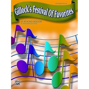 Alfred Gillock s Festival of Favorites - Music Book (AlFRD43255)