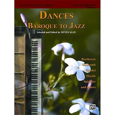 Alfred The Young Pianist s library- Dances- Baroque to Jazz- Book 13A - Music Book (AlFRD43197)