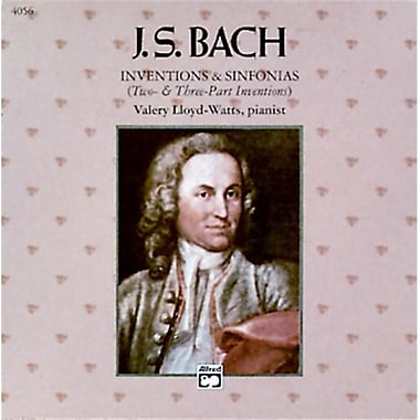 Alfred Inventions and Sinfonias- Two- and Three-Part Inventions - Music Book (AlFRD42852)