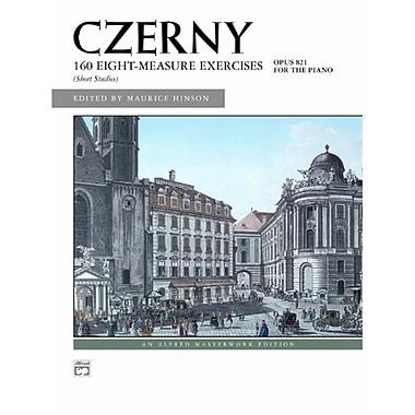 Alfred 160 8-Measure Exercises- Op. 821 - Music Book (AlFRD42903)