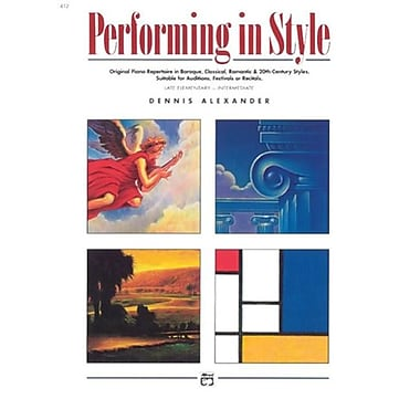 Alfred Performing in Style - Music Book (AlFRD42857)