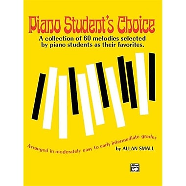 Alfred Piano Student s Choice - Music Book (AlFRD42947)