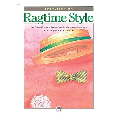 Alfred Spotlight on Ragtime Style - Music Book (AlFRD42986)