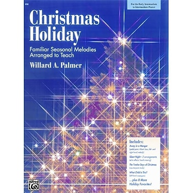 Alfred Christmas Holiday - Music Book (AlFRD43066)