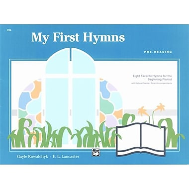 Alfred My First Hymns - Music Book (AlFRD42413)