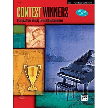 Alfred Contest Winners- Book 3 - Music Book (AlFRD42384)