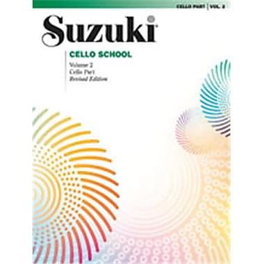 Alfred Suzuki Cello School Cello Part- Volume 2 - Music Book (AlFRD46446)