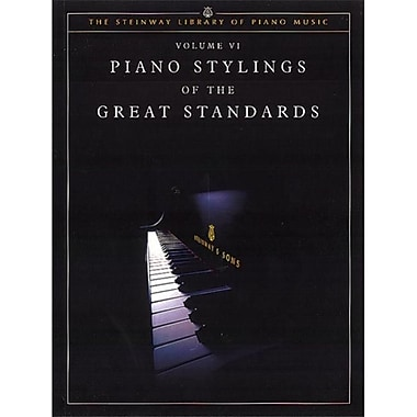 Alfred Piano Stylings of the Great Standards- Volume VI - Music Book (AlFRD43699)