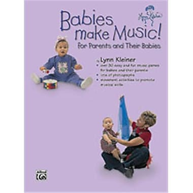 Alfred Kids Make Music Series- Babies Make Music- for Parents and Their Babies - Music Book (AlFRD46319)