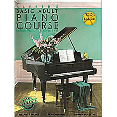 Alfred Basic Adult Piano Course- lesson Book 2 - Music Book (AlFRD40535)