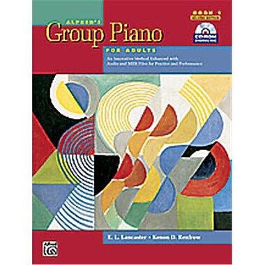 Alfred Group Piano for Adults- Student Book 1- 2nd Edition - Music Book (AlFRD40880)