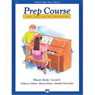 Alfred Basic Piano Prep Course- Theory Book E - Music Book (AlFRD40855)