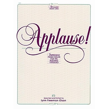 Alfred Applause- Book 1 - Music Book (AlFRD42488)