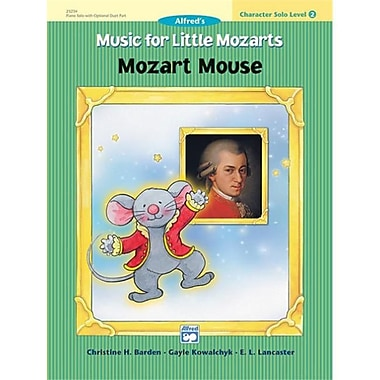 Alfred Music for little Mozarts- Character Solo- Mozart Mouse- level 2 - Music Book (AlFRD41523)