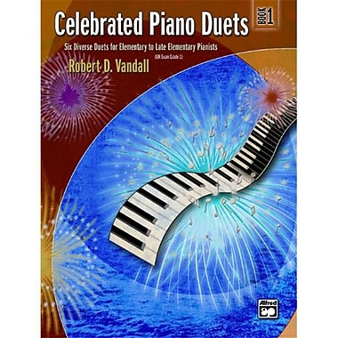 Alfred Celebrated Piano Duets- Book 1 - Music Book (AlFRD43802)