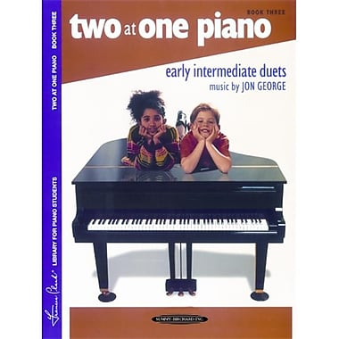 Alfred Two at One Piano- Book 3 - Music Book (AlFRD43722)