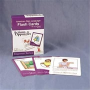 Cicso Independent Sign2Me ASl Flash Cards - Actions and Opposites Pack (HRSC626)