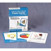 Cicso Independent Sign2Me ASl Flash Cards - Objects and Emotions Pack (HRSC625)