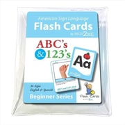 Cicso Independent Sign2Me ASl Flash Cards - ABCs and 123s (HRSC1223)
