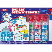 Alex Brands Ideal Sno Art Spray N Stencil (AlxB316)