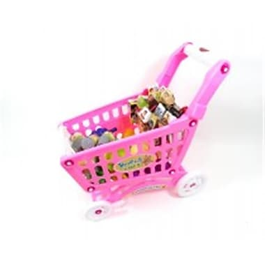 Az Import and Trading Shopping Cart Playset Pink (AZIMPT02507)