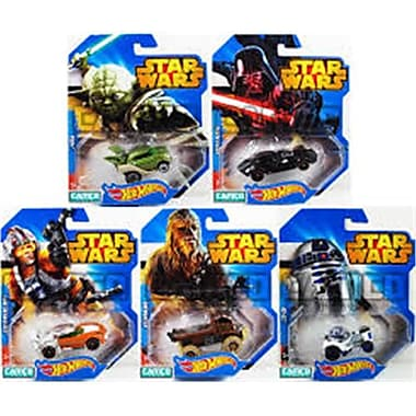 Hot Wheels Star Wars Toy Cars Assorted Styles (JNSN78022)