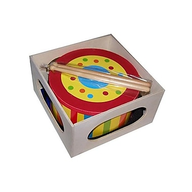 Sassafras Enterprises 5008S Kids Stripe Tom Tom Drum (SSFSE235)