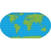 Practice Map Unlabeled World 30 Sht 8 x 16 (RTl146861)