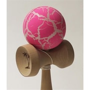 Bahama Kendama Grand large Kendama, Crackle, Pink Over White (YYSM024)