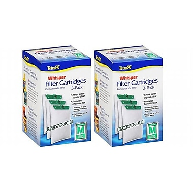 Tetra 5-15 Carbon Filter Cartridges, Medium (JNSN79428)