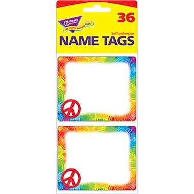 Trend Enterprises Inc. Peace Sign Name Tags (EDRE41483)