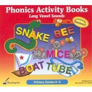 SelectSoft Publishing 116270 Phonics Activity Books - long Vowel Sounds -Grades K-2 (xS116270)