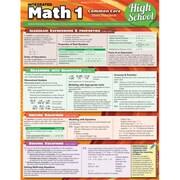 BarCharts Math 1 Common Core 9th Grade (BARCH453)