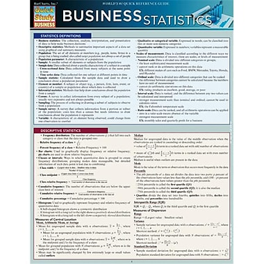 BarCharts Business Statistics (BARCH423)