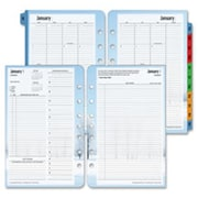 Franklin Covey Co. Daily Planner Refill,Seasons,Jan-Dec,2PPD,5.5 in. x 8.5 in. (SPRCH36988)