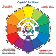 CRYSTAl PRODUCTIONS CO. lARGE STUDENT COlOR WHEEl (EDRE44752)