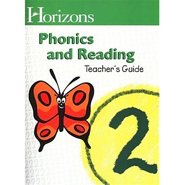Alpha Omega Publications Horizons Phonics and Reading 2 Teachers Guide (APOP301)