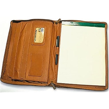 David King and Co 8 .50 in. x 11 in. Zip Around Pad- Tan (DVDK655)