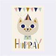 Ferm living Kids Ingela P Arrhenius Mr. Cat Poster (SCATR1293)