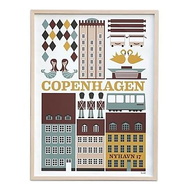 FERM lIVING Small Copenhagen Poster (SCATR639)