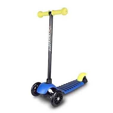 YBike lightweight Aluminum 3 Wheel Scooter, Blue (NSGC33)