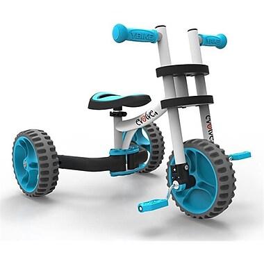 YBike Evolve Ride-On Balance Bike, White With Blue (NSGC57)