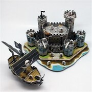 Primo Tech 3D Puzzle - Medieval Castle and Pirate Ship (PRMTC156)