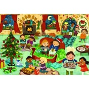 Euro Graphics Party Time Christmas Party 60-Piece Puzzle (EUGR268)
