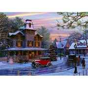 Euro Graphics Driving Home for Christmas 1000-Piece Puzzle (EUGR240)