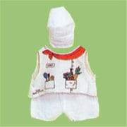 Dexter Chef Doll Costume (DxTR040)