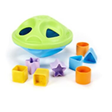 Frontier Natural Products Toys Shape Sorter Baby - Green (FNTR08552)