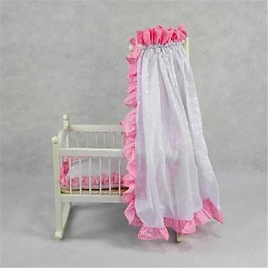Regal Doll Carriages Samantha Doll Bed Cot Crib Medium (RDlC010)